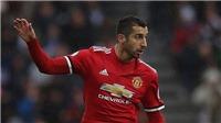 CHUYỂN NHƯỢNG M.U 23/12: Gareth Bale yêu cầu được sang M.U. Arsenal bất ngờ muốn có Mkhitaryan