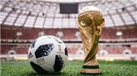 Link xem TRỰC TIẾP lễ bốc thăm chia bảng World Cup 2018 tại Nga