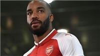 Mua với giá kỷ lục, Arsenal chờ Lacazette mang lại chức vô địch Premier League
