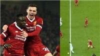 Hậu vệ Liverpool gây sốt với hành động tạo sức ép cho cả hàng thủ Man City