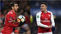 CHUYỂN NHƯỢNG M.U 17/1: Alexis Sanchez bao giờ chính thức gia nhập M.U? Man City săn Griezmann