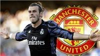 CHUYỂN NHƯỢNG M.U 5/1: Ủng hộ Mourinho mua Sanchez. Gareth Bale đến M.U