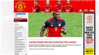 CHUYỂN NHƯỢNG ngày 8/7: M.U xác nhận mua Lukaku. Arsenal 'săn' Lemar. Sanchez đòi đến Man City