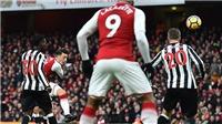 Video clip highlights bàn thắng Arsenal 1-0 Newcastle: Siêu phẩm của Oezil