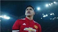 Video clip Sanchez chính thức gia nhập và ra mắt M.U