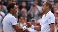 Rafa Nadal thua sốc tay vợt 34 tuổi ở vòng 4 Wimbledon