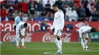 Real Madrid thua sốc Girona 1-2: Đáng lo rồi đấy, Zidane!