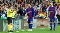 Ngỡ ngàng với pha kiến tạo tuyệt đẹp của Messi cho Alba phá lưới Valencia