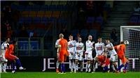 Hà Lan cần thắng Thụy Điển... 7-0 để giành vé play-off World Cup 2018