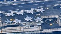 Tàu sân bay USS Carl Vinson rời khu vực Bán đảo Triều Tiên
