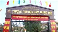 Không khởi tố hình sự vụ học sinh bị ô tô đâm gãy chân ở trường Nam Trung Yên