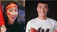 Rộ tin Hoa hậu Đỗ Mỹ Linh đang làm visa sang Trung Quốc cổ vũ Bùi Tiến Dũng