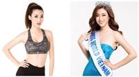 Hoa hậu Mỹ Linh khoe thân hình nóng bỏng trước thềm Hoa hậu Thế giới