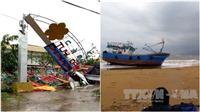 Ảnh hưởng bão số 12: Đã có 20 người chết và 17 người mất tích