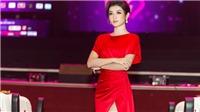 Huyền My diện đầm xẻ cao, tự tin với vai trò cố vấn chuyên môn cuộc thi Hoa khôi