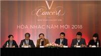 'V-Concert - Hòa nhạc năm mới 2018' được chỉ huy bởi nhạc trưởng nổi tiếng người Nhật Bản