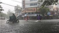 Ảnh hưởng bão số 7, từ đêm 27/8 đến ngày 31/8, miền Bắc có mưa dông diện rộng