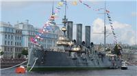 Chiến hạm Rạng Đông không thể bắn pháo mừng 100 năm Cách mạng Tháng Mười