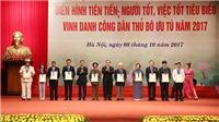 Hà Nội vinh danh 10 Công dân Thủ đô ưu tú 2017 và tôn vinh 790 gương điển hình tiên tiến