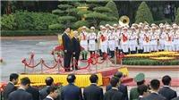 Tổng Bí thư Nguyễn Phú Trọng chủ trì Lễ đón chính thức Chủ tịch Trung Quốc Tập Cận Bình