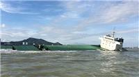 VIDEO: Bắt đầu trục vớt 10 tàu bị chìm và mắc cạn ở biển Quy Nhơn