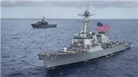 Tàu chiến Mỹ va chạm với tàu kéo Nhật Bản ở Vịnh Sagami