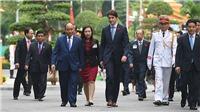 Chùm ảnh: Lễ đón Thủ tướng Canada Justin Trudeau thăm chính thức Việt Nam