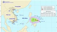 Bão Kai tak đi vào Biển Đông, trong 24 giờ tới có thể mạnh thêm