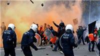 Hơn 100 người bị bắt sau đụng độ bạo lực tại Brussels
