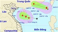 CẬP NHẬT: Bão số 3 và áp thấp nhiệt đới hoành hành trên Biển Đông