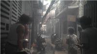 Giải cứu thành công 4 người mắc kẹt trong vụ cháy ở ngõ Thái Hà, Hà Nội