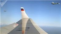 VIDEO: Các phi công bảo vệ chuyên cơ của Tổng thống Nga đến Syria không biết Putin ngồi trong cabin