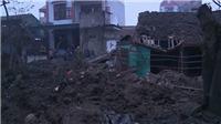Nổ kinh hoàng ở Bắc Ninh: 2 cháu bé thiệt mạng, 7 người bị thương, sập 5 ngôi nhà
