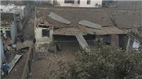 Đồ họa vụ nổ ở Bắc Ninh: Hố sâu 4m, đường kính 20m, đầu đạn súng trường văng khắp nơi