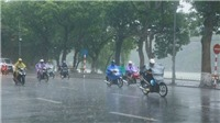 Từ ngày 9-12/10, xuất hiện đợt mưa mới ở Đồng bằng Bắc Bộ, từ Thanh Hóa đến Huế