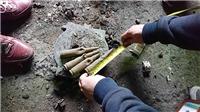 Kinh hoàng: Phát hiện khoảng 2 tấn đầu đạn tại huyện Khoái Châu, Hưng Yên