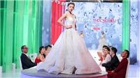 'The Face' tập 6: Thử thách 'kỳ quái', thí sinh mặc váy cô dâu đi trên bàn tiệc