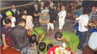 Công an đột kích quán bar tại Đồng Nai, 80 người dương tính với ma túy