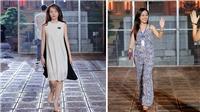 Ngắm mặt mộc xinh đẹp của BTV thời sự Hoài Anh, Thu Hà, Đan Lê trên sàn catwalk