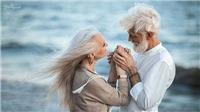 Chùm ảnh: 'Tình yêu vượt thời gian' của đôi vợ chồng già