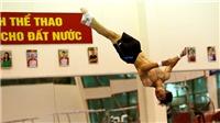 CẬN CẢNH: 'Nam thần' TDDC Việt Nam hối hả tập luyện chờ SEA Games