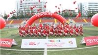 Những khoảnh khắc đáng nhớ của giải bóng đá trẻ Toyota  khu vực sông Mekong 2017