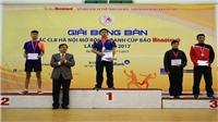 Lê Tiến Đạt vô địch giải bóng bàn Cúp Báo Hànộimới 2017