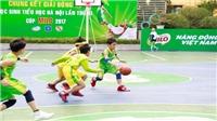 Khai mạc VCK giải bóng rổ học sinh tiểu học Hà Nội 2017