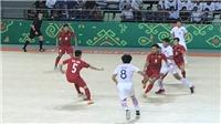 AIMAG 2017: Futsal Việt Nam dừng bước ở tứ kết