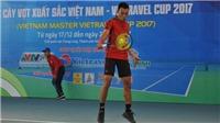 Khai mạc Giải quần vợt Các cây vợt xuất sắc Việt Nam 2017