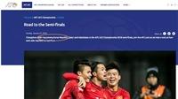 Chuẩn bị đá với U23 Qatar, U23 Việt Nam vẫn bị nhầm là U23 Iraq