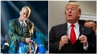 Rapper Eminem vẫn không ngừng công kích Tổng thống Donald Trump