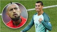 Chile thanh minh: Vidal 'chửi' Ronaldo là do... lỗi phiên dịch