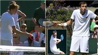 'Hiện tượng' ở Wimbledon gây sốc khi rút ví, ném tiền vào trọng tài